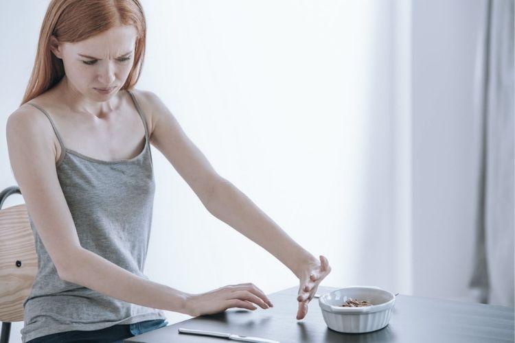 phases de l'anorexie